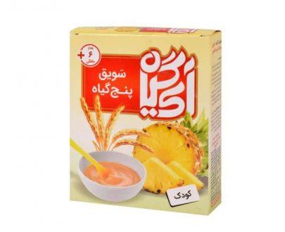 سویق پنج گیاه کودک آناناس