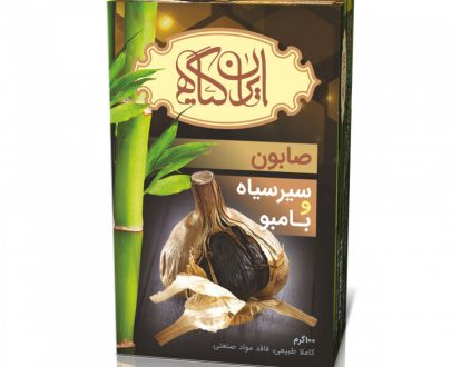 صابون سیر سیاه و بامبو